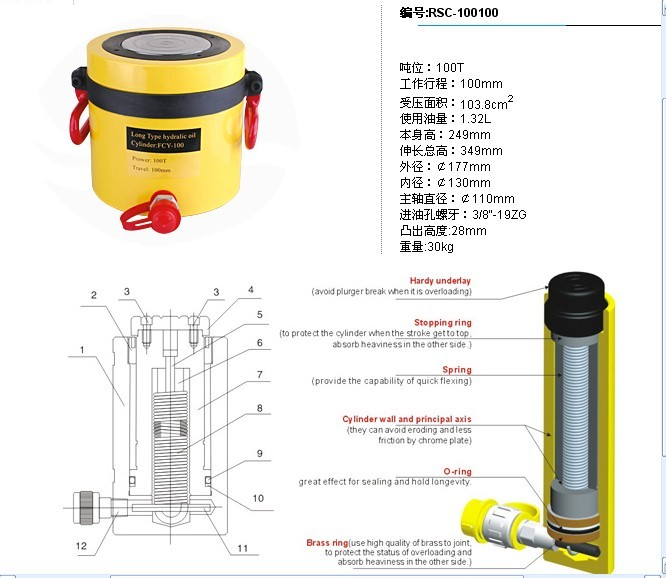 如需千斤顶快速顶进或回位,可选用电动或机动高压泵站.图片